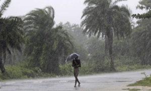Heavy rain in Odisha