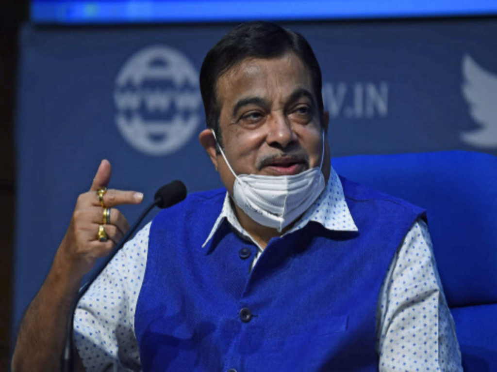 Time To Show Exit Door From NHAI Minister Nitin Gadkari Blast Official