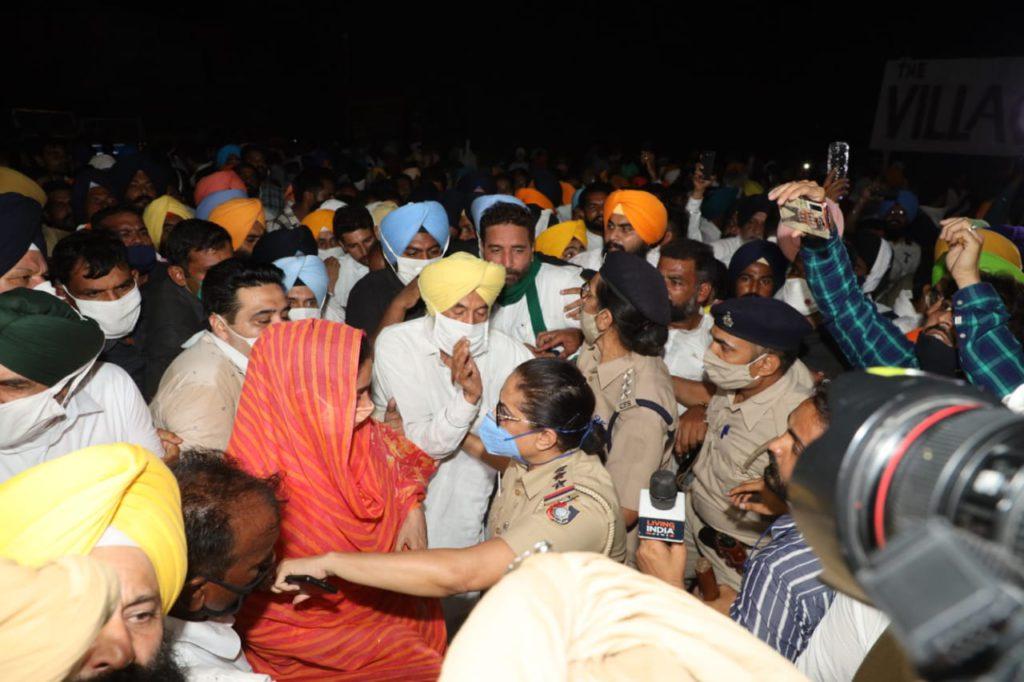 Harsimrat Kaur Badal Sukhbir Badal Arrested In Punjab Over Protest Against New Farm Laws
