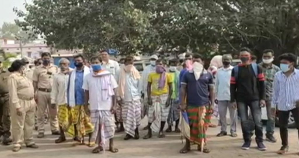 Tribal Peoples Of Keonjhar Alleged Conversion