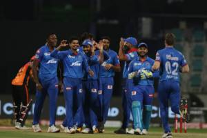 Delhi Capitals defeat Sunrisers Hyderabad by 17 runs, to face Mumbai Indians in the final