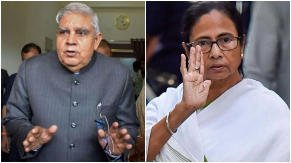 Mamta banarjee And Governor