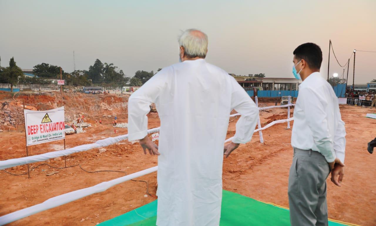 CM Naveen Patnaik Reviewed Barmunda Bus Stand Development Work