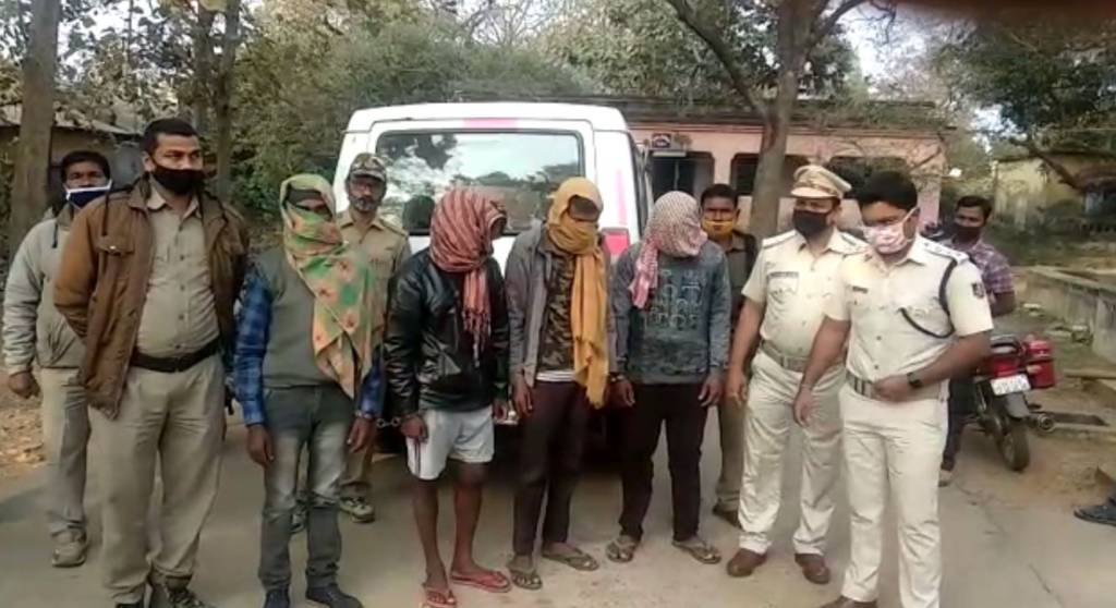 Bangiriposi Police Arrested Four Friend In Bimal Murder Case