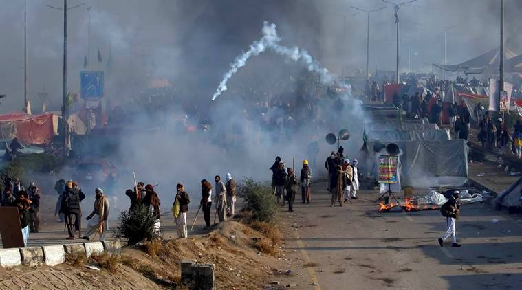 Fired little tear gas on government employees to test it, says Pakistan Minister