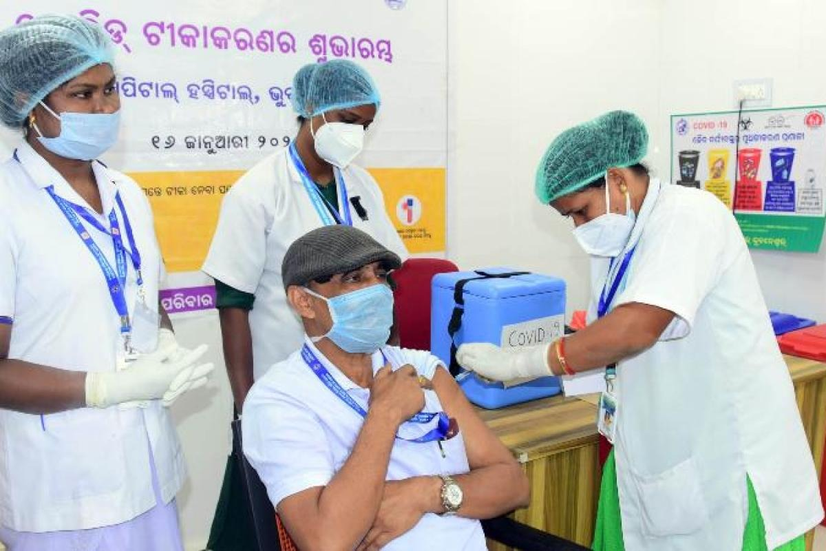 Odisha vaccinated more than 10 lakh elderly citizens of 60 years & above
