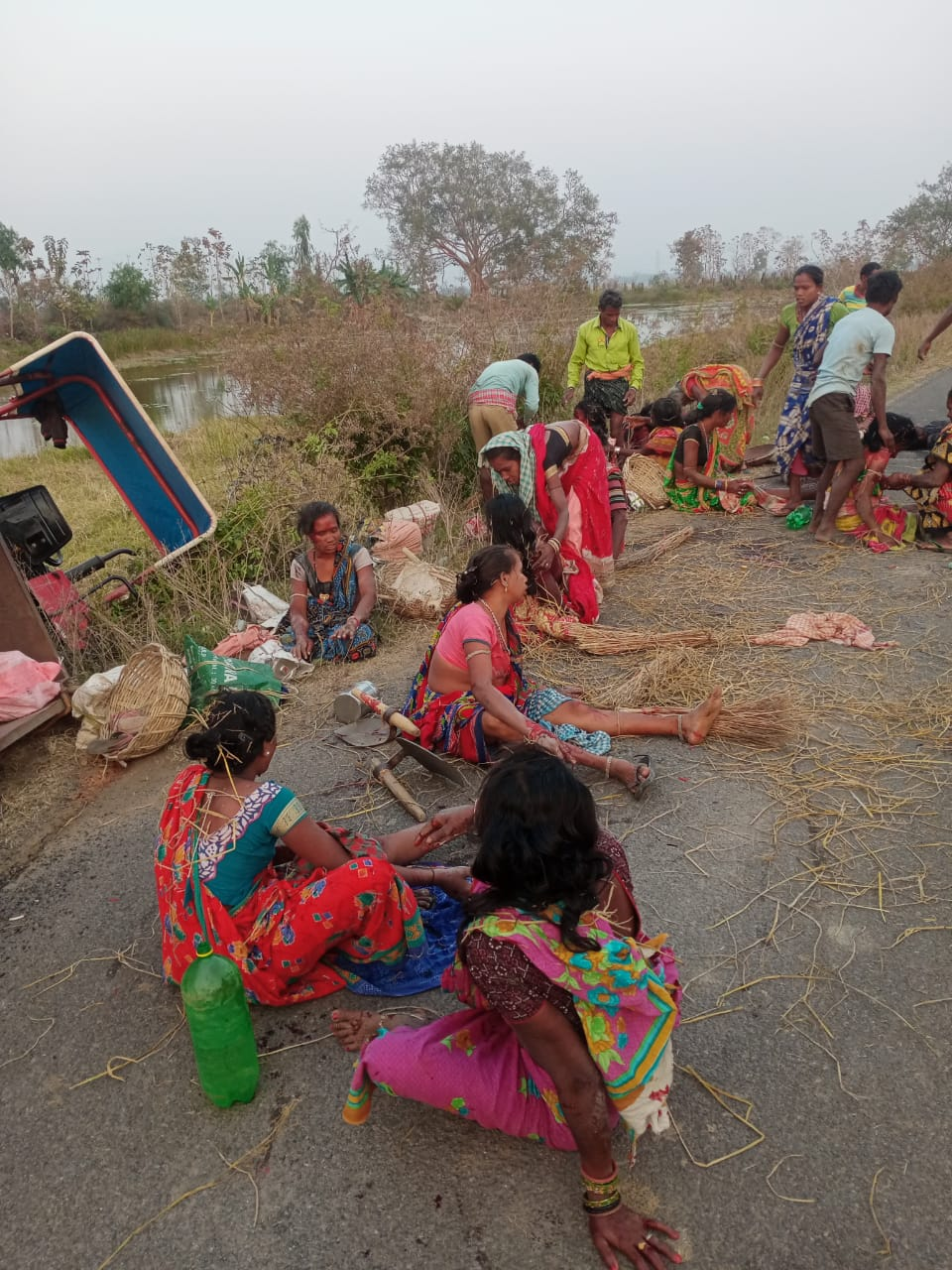 Tractor Overturns In Ganjam, 17 Labour Injured
