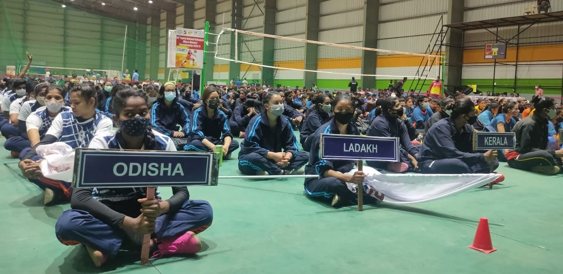 69th Senior National Volley Ball Championship Inaugurated In KIIT