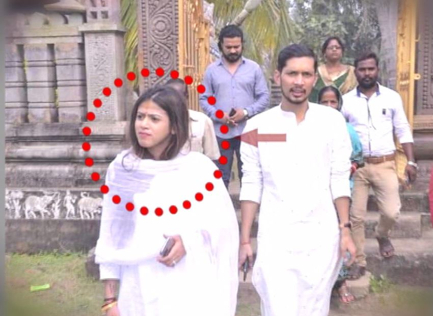 FIR Against BJP leader Upasna Mohapatra, Her Husband Subharansu Biswal And Dozen Others