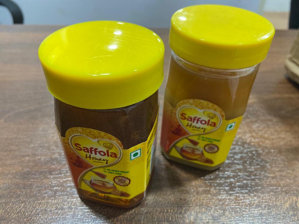 Saffola Supplies Sugar Syrup As Honey In Online