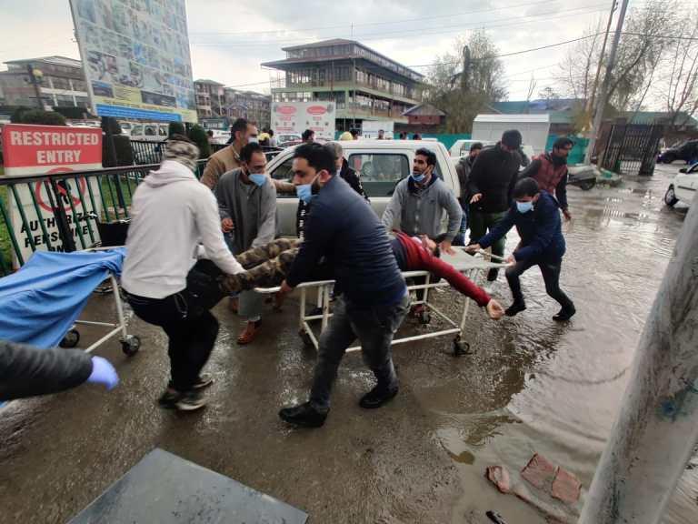 Terrorists fired at Municipal Office Sopore