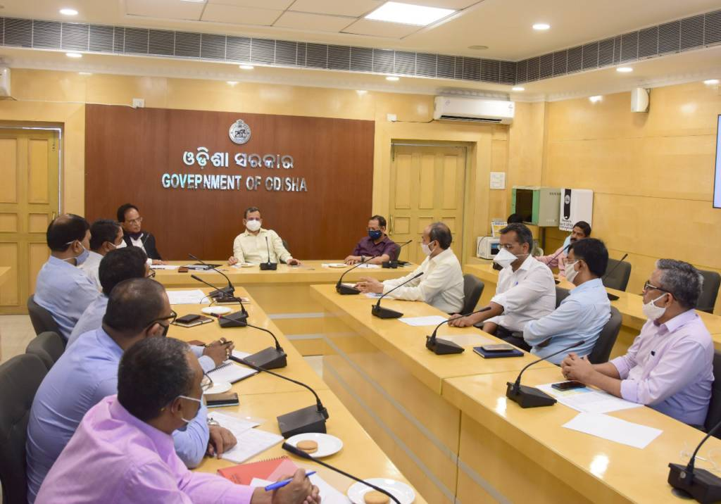 Top Officials Of Odisha And Bihar Discussed About Port Use