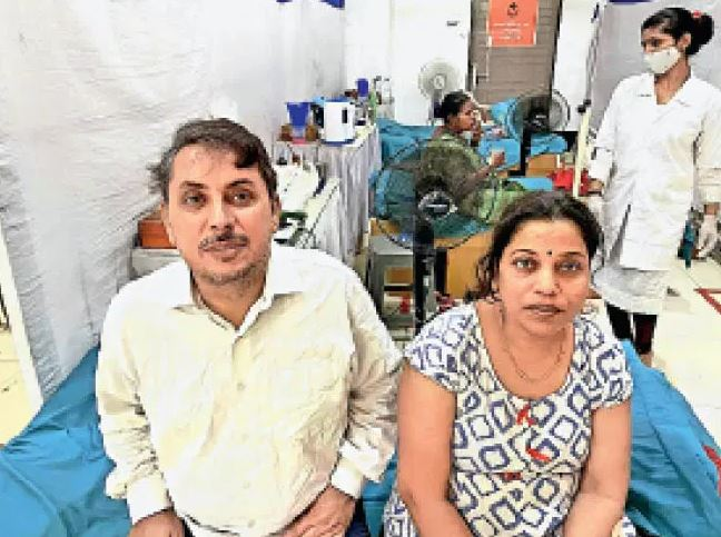 198 Hospitals In Nagpur Were Not Admitted To Positive Couple Reached Surat By Ambulance
