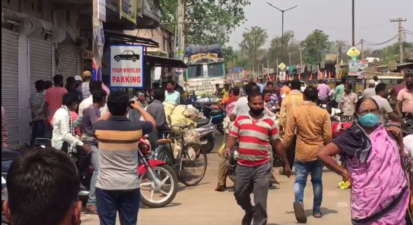 Allegation Of Bolangir Municipal Employee Attacked Street Vegetable Vendor