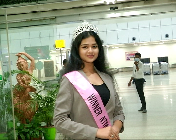 Bhadrak Girl Digadarshi Bagged Nest Top Model Session 3 Title