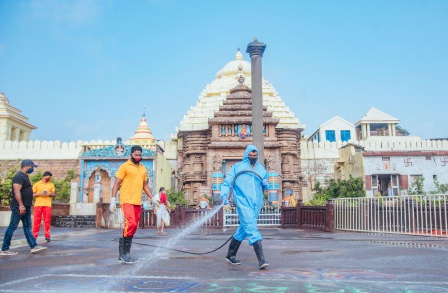 Puri Jagannath Temple Daily Darshan Corona