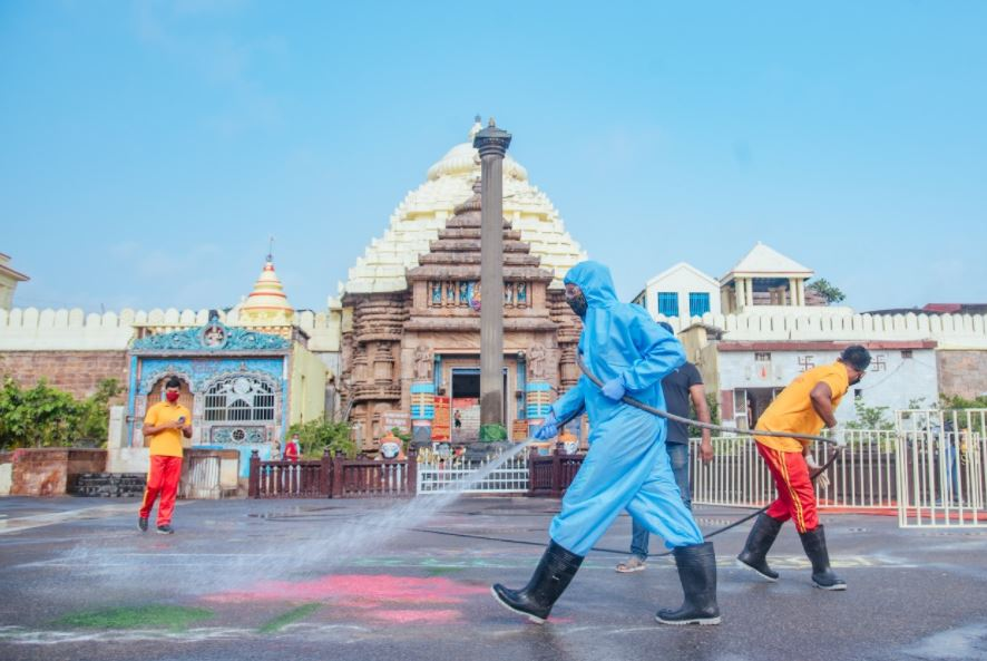 Daily Jagannath Temple Darshan Puri Meeting Today