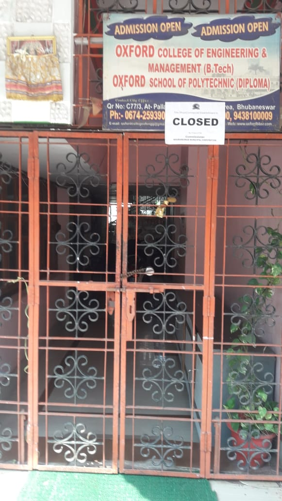 BMC Sealed Ram Mandir Function Hall And Oxford College