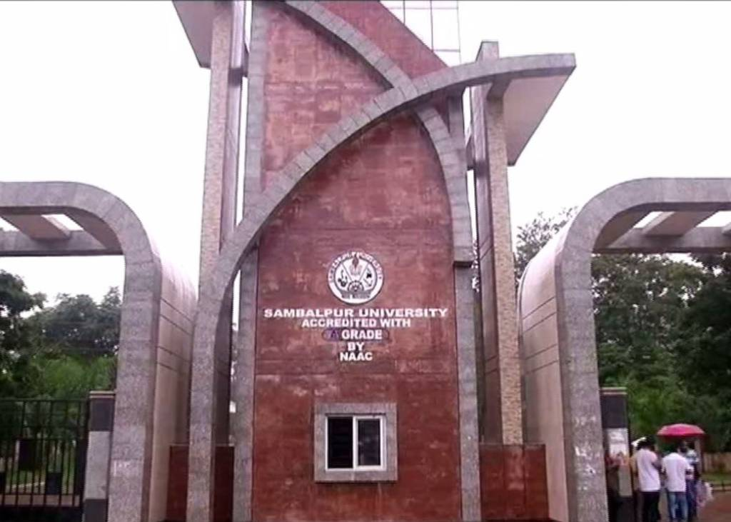 Fir Filed Against Sambalpur University VC And 2 Others