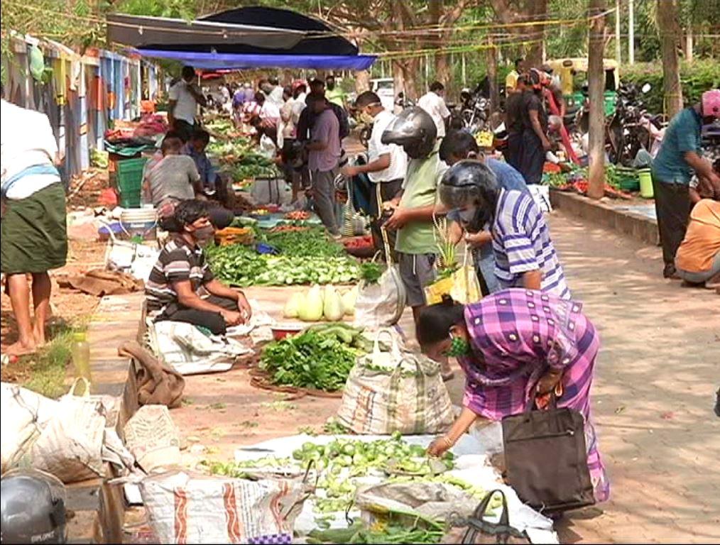 Vegetable Rates Increased In City Before Day Of Lockdown
