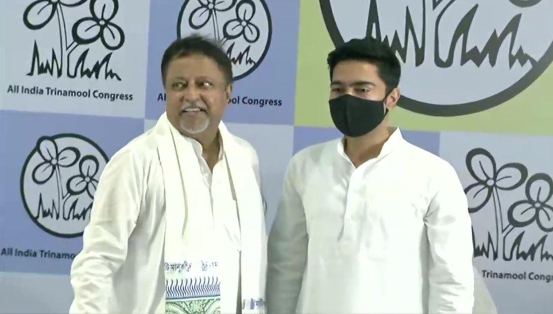 BJP National Vice President Mukul Roy joins TMC