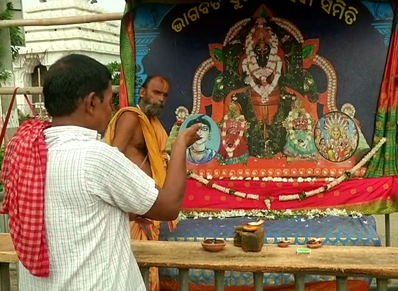 During Anasara Stay Of Lord Jagannath Devotees Barred From Lord Alarnath's Darshan