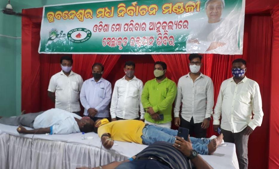 1477 Unit Blood Collected By Odisha Mo-Parivar Jeeban Bindu