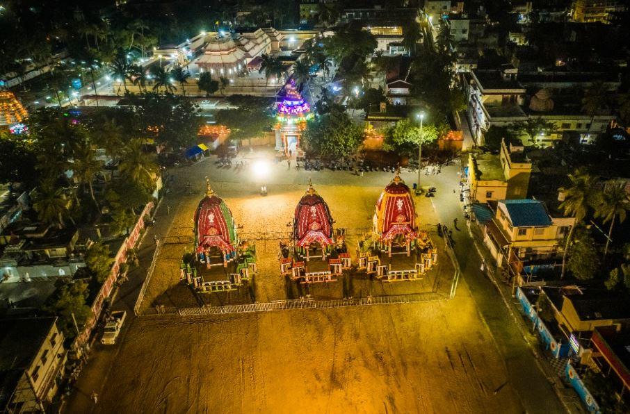 Bahuda Yatra 48 Hours Curfew Imposed In Puri