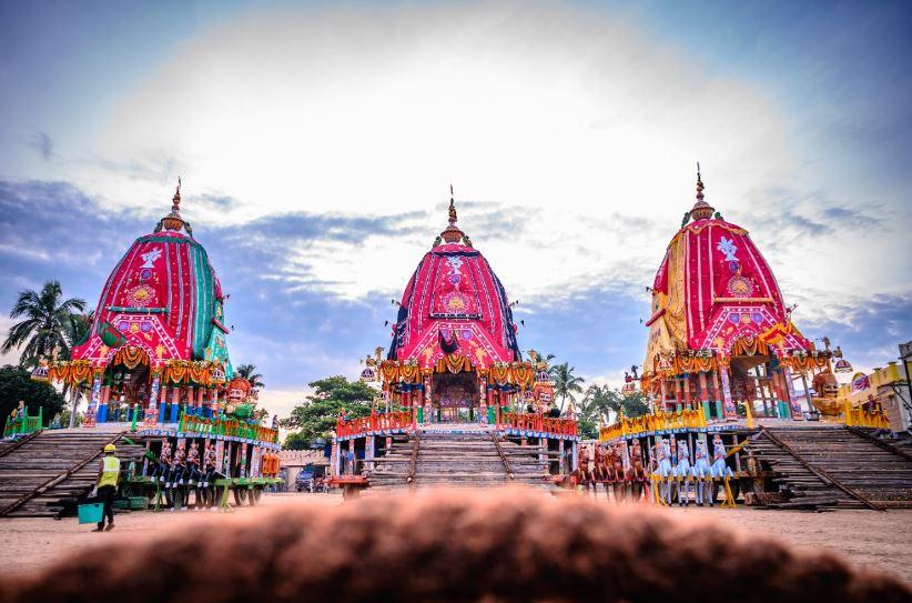 Bahuda Yatra Rituals Of Deities Going On Puri