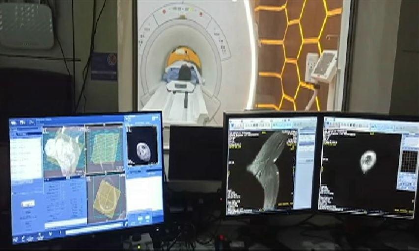 CM Naveen Inaugurated MRI And CT Scan Machine In Acharya Harihar Regional Cancer Centre