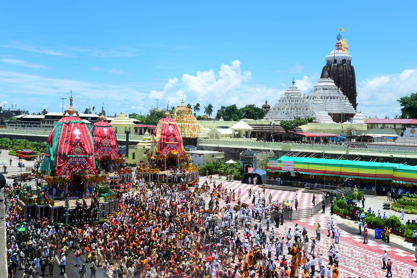 CM Naveen Patnaik Thanked All For Smooth Management Of Ratha Yatra