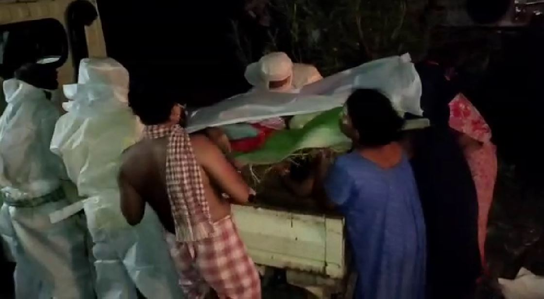 Ganjam Administration Helped Family For Body Cremation