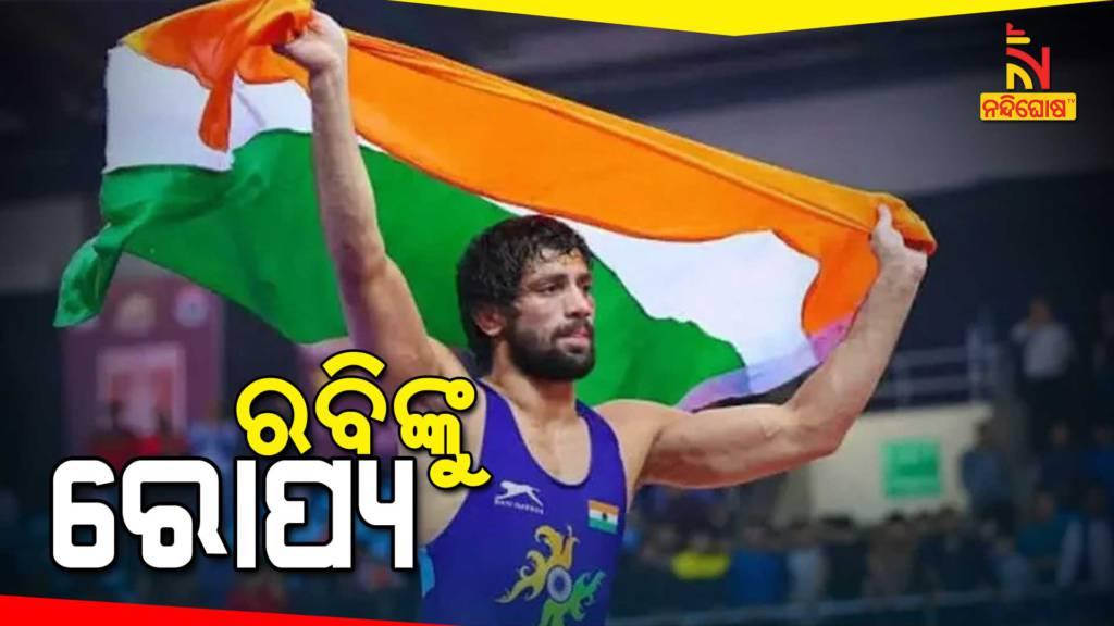 Wrestler Ravi Kumar Dahiya Clinching Silver Medal in Men's Freestyle 57kg Tokyo2020