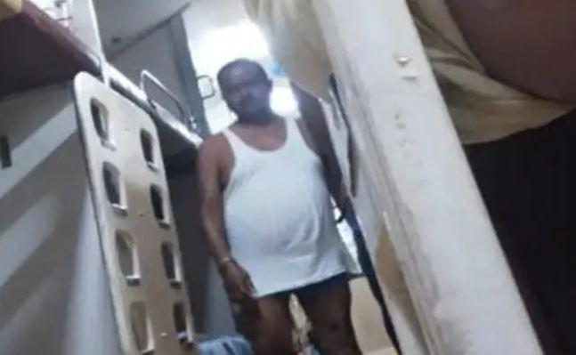 Bihar JDU Mla Seen Walking In Underwear And Vest In Tejas Train