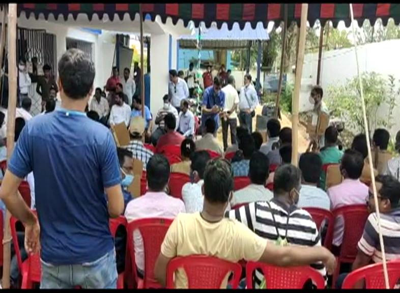 Electric Employee Strike In Jeypore