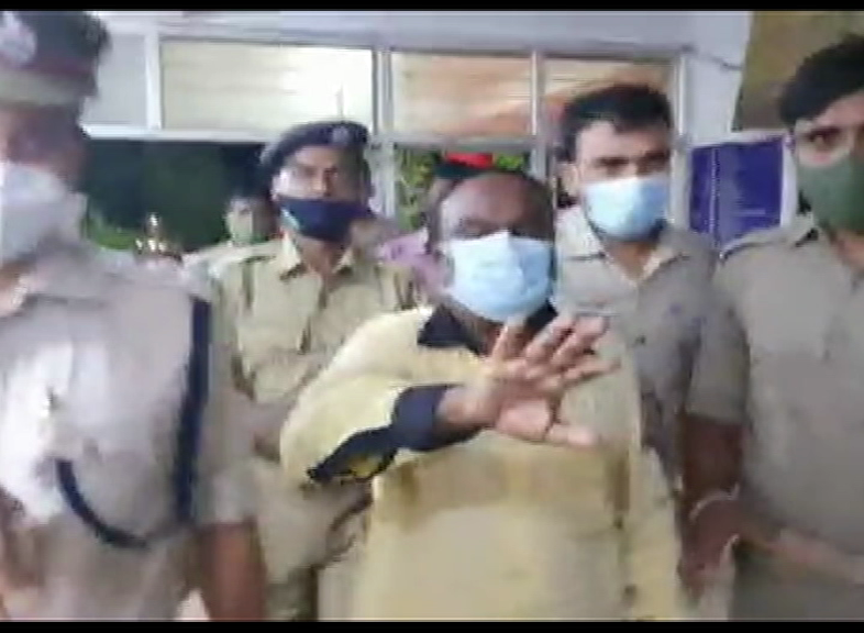Manas Das And His Son's First Night In Khordha Jail