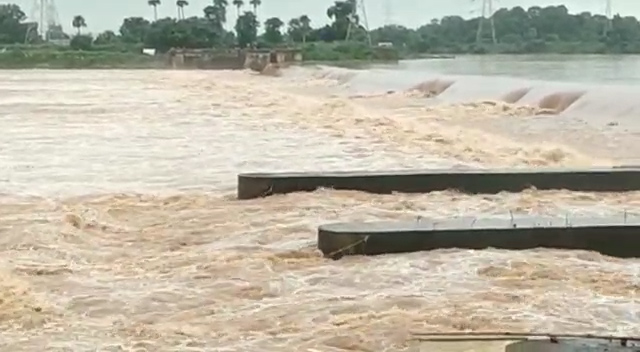 Possible Of Low Medium Flood In Mahanadi SRC