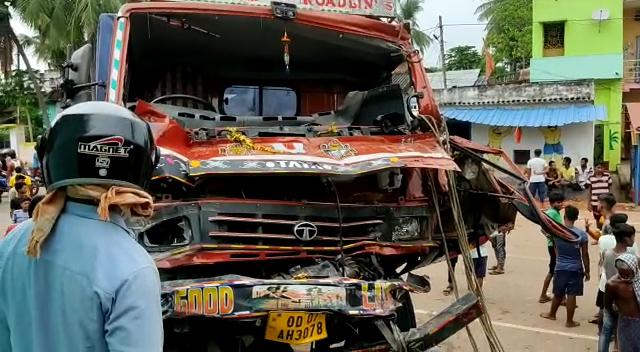 Truck Accident In Ganjam