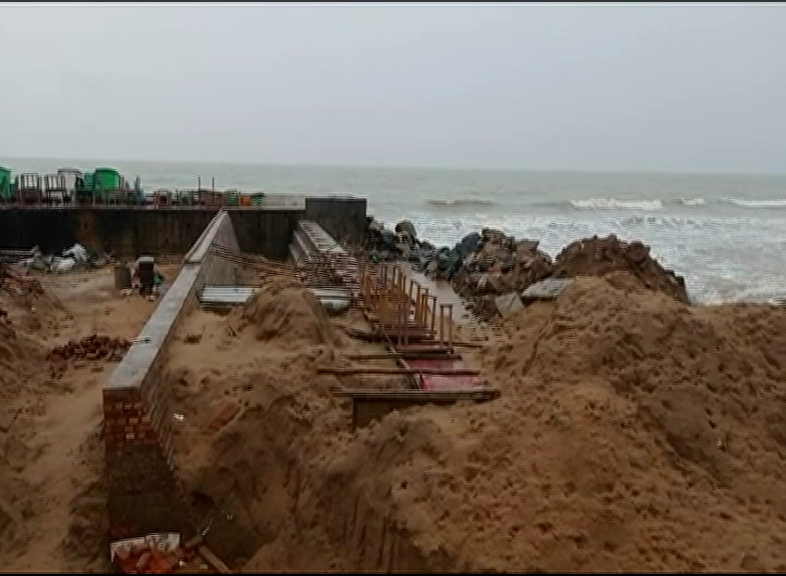 West Bengal Builds Illegal Construction In Odisha's Border
